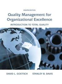 Quality Management for Organizational Excellence