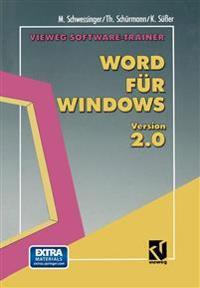 Vieweg Software-trainer Word Für Windows 2.0