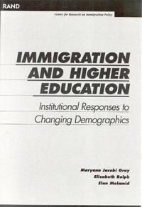 Immigration and Higher Education
