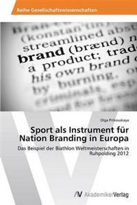 Sport ALS Instrument Fur Nation Branding in Europa