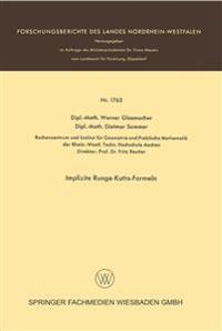 Implizite Runge-Kutta-Formeln