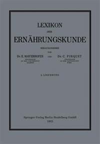Lexikon Der Ernährungskunde