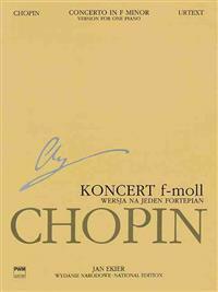 Piano Concerto in F Minor Op.21 Version for 1 Piano, Wn a Xviiib Vol.15
