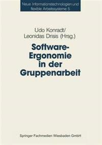 Software-ergonomie in Der Gruppenarbeit