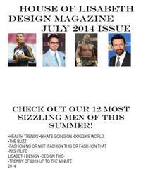 House of Lisabeth Design Magazine July 2014