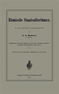 Römische Staatsaltertümer