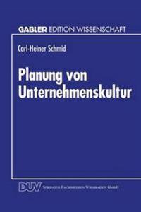 Planung Von Unternehmenskultur