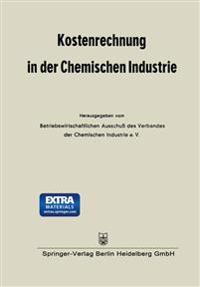 Kostenrechnung in Der Chemischen Industrie
