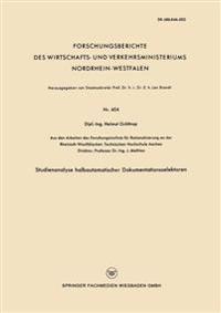 Studienanalyse Halbautomatischer Dokumentationsselektoren