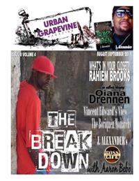 Urban Grapevine Magazine 8-9/2014: Aaron Bebo the Breakdown