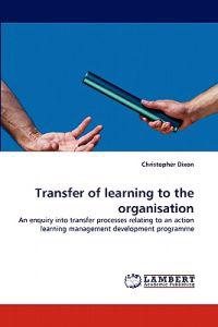Transfer of Learning to the Organisation