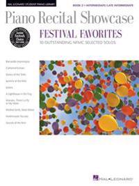 Piano Recital Showcase: Festival Favorites, Book 2: 10 Outstanding NFMC Selected Solos