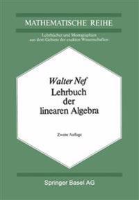 Lehrbuch Der Linearen Algebra