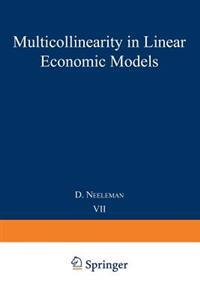 Multicollinearity in linear economic models