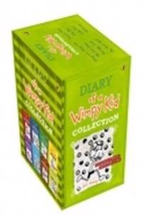 Diary Of A Wimpy Kid 8 Books Slipcase