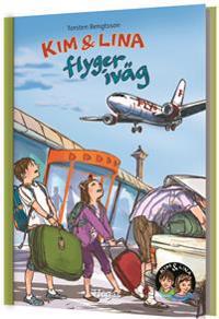 Kim & Lina flyger iväg (bok + cd)