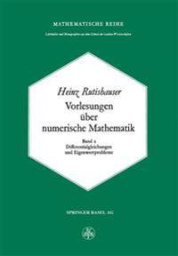 Vorlesungen Über Numerische Mathematik