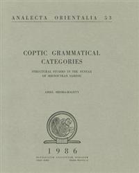 Coptic Grammatical Categories