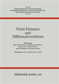 Finite Elemente Und Differenzenverfahren