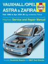 Vauxhall/opel astra & zafira petrol service and repair manual