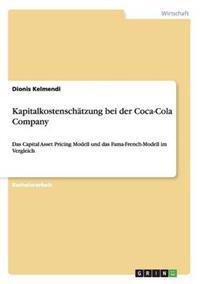 Kapitalkostenschatzung Bei Der Coca-Cola Company