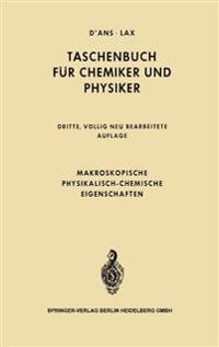 Makroskopische physikalisch-chemische Eigenschaften