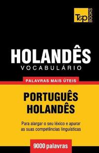 Vocabulario Portugues-Holandes - 9000 Palavras Mais Uteis