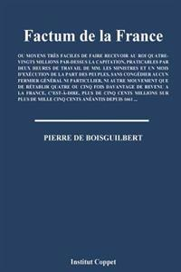 Factum de la France