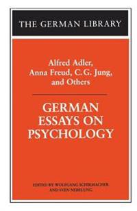 German Essays on Psychology