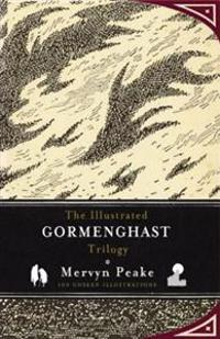 Illustrated gormenghast trilogy