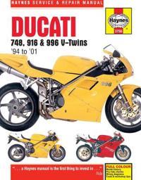 Haynes Ducati 748, 916 & 996 V-Twins '94 to '01 Service and Repair Manual
