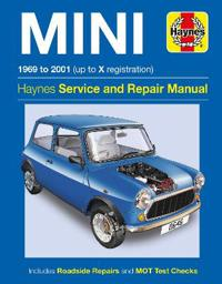 Haynes Mini 1969 to 2001 Up to X Registration Service and Repair Manual