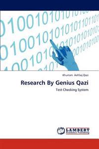 Research by Genius Qazi
