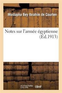Notes Sur L'Armee Egyptienne