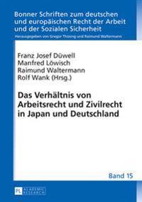 Das Verhaeltnis Von Arbeitsrecht Und Zivilrecht in Japan Und Deutschland
