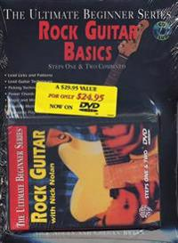 Ultimate Beginner Rock Guitar Basics Mega Pak: Book, CD & DVD