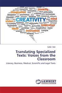 Translating Specialized Texts