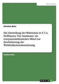 Die Darstellung Des Wahnsinns in E. T. A. Hoffmanns 'Der Sandmann' ALS Rezeptionsasthetisches Mittel Zur Erschutterung Der Wirklichkeitswahrnehmung