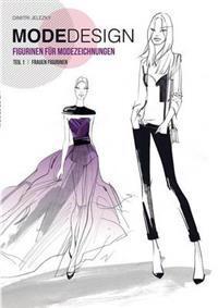 Modedesign Figurinen für Modezeichnungen