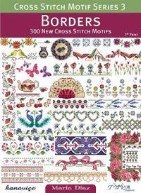 Cross Stitch Motif Series 3  Borders - Maria Diaz - böcker (9786055647315)     Bokhandel