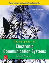Experiments and Activities Manual for Principles of Electronic Communication Systems