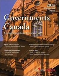 Government Canada, Summer/Fall 2015