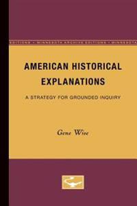 American Historical Explanations