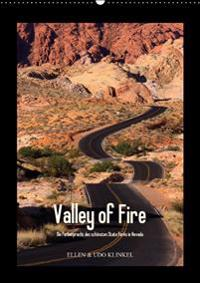 VALLEY OF FIRE AT VERSION WANDKALEND