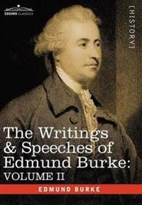 The Writings & Speeches of Edmund Burke