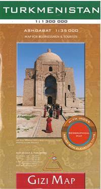 Turkmenistan 1 : 1 300 000