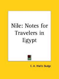 Nile Notes for Travelers in Egypt, 1901
