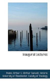 Inaugural Lectures
