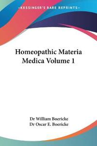 Homeopathic Materia Medica 1927