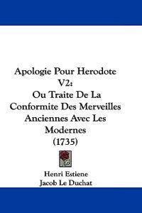 Apologie Pour Herodote